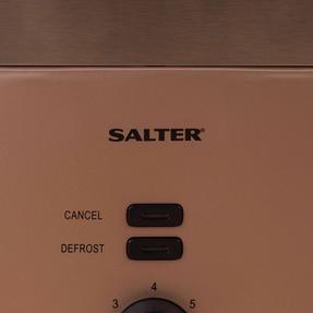 Salter EK3215CHAMPAGNE Vega Two-Slice Toaster, 930 W, Metallic Champagne Thumbnail 9