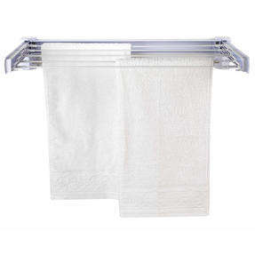 Beldray LA060792EU Wall Mounted Retractable Drying Rack Airer, 3.6 m, White Thumbnail 1