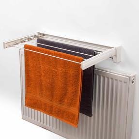 Beldray LA060792EU Wall Mounted Retractable Drying Rack Airer, 3.6 m, White Thumbnail 3