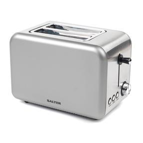Salter EK2652TITANIUM Metallics Polaris 2-Slice Toaster, 850W, Titanium Edition Thumbnail 4