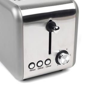 Salter EK2652TITANIUM Metallics Polaris 2-Slice Toaster, 850W, Titanium Edition Thumbnail 5