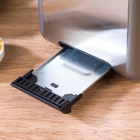 Salter EK2652TITANIUM Metallics Polaris 2-Slice Toaster, 850W, Titanium Edition Thumbnail 7
