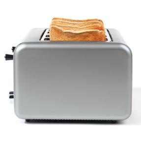 Salter EK3352TITANIUM Metallics Polaris 4-Slice Toaster, 1500W, Titanium Edition Thumbnail 3