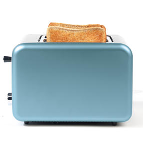 Salter Metallics Polaris 2-Slice Toaster, 850W, Pearl Blue Edition Thumbnail 4