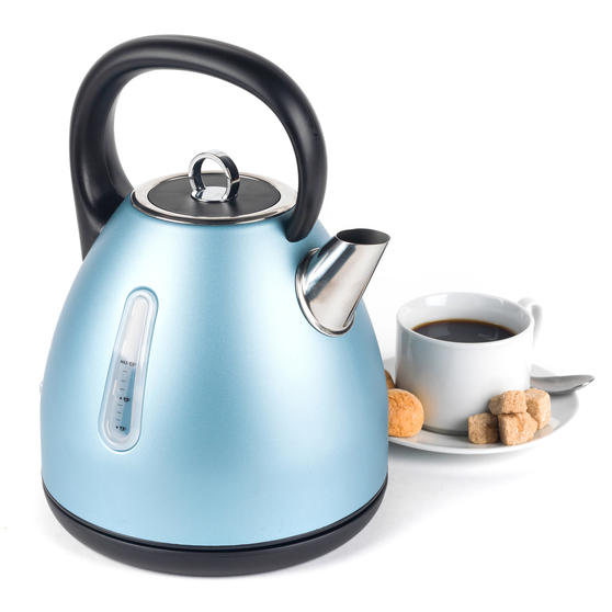 Salter EK3218BLUE Metallics Polaris Dome Kettle, 3000 W, 1.7 Litre, Pearl Blue Edition
