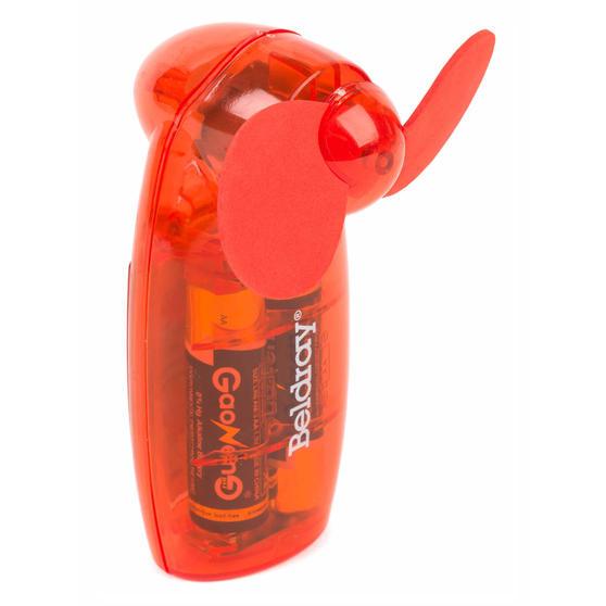 Beldray Mini Lipstick Hand Fan, 3V, Red Thumbnail 2