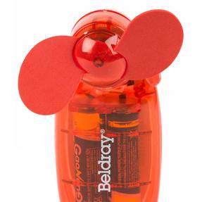 Beldray EH3138STK Mini Lipstick Hand Fan, 3V, Red Thumbnail 4