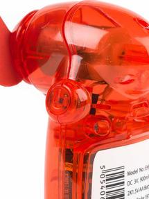 Beldray EH3138STK Mini Lipstick Hand Fan, 3V, Red Thumbnail 6
