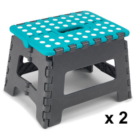 Beldray DIY Hobby Step Stool, Small, Plastic, Set of 2