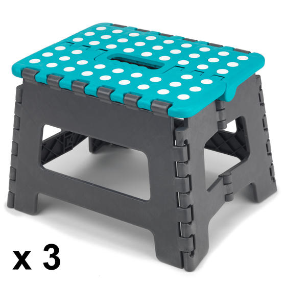 Beldray DIY Hobby Step Stool, Small, Plastic, Set of 3 Thumbnail 1