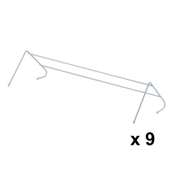 Beldray COMBO-3985 Radiator Clothes Drying Airer, Pack Of 9, 3 Metres Drying Space