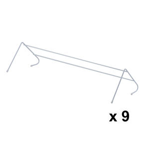 Beldray COMBO-3985 Radiator Clothes Drying Airer, Pack Of 9, 3 Metres Drying Space Thumbnail 1