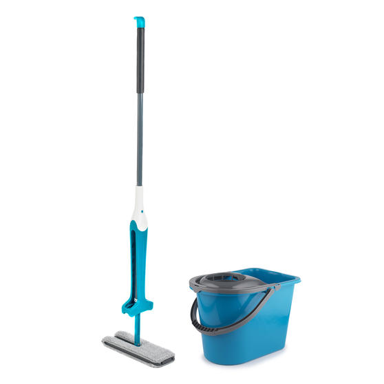 Beldray COMBO-3986 Double Sided Squeegee Mop with 14 Litre Mop Bucket