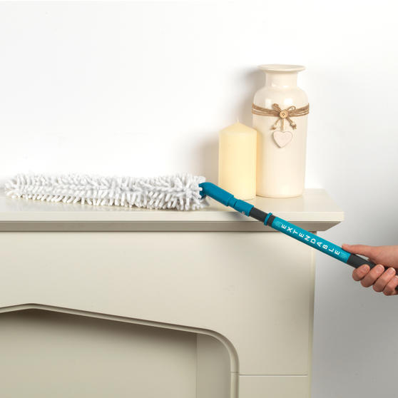 Beldray Double Sided Squeegee Mop with Extendable Duster and 14 Litre Mop Bucket Thumbnail 8