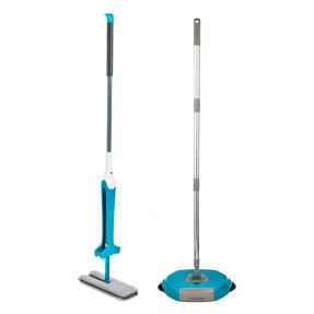 Beldray COMBO-3988 Double Sided Squeegee Mop with Hard Floor Spinning Sweeper Thumbnail 1