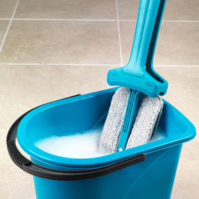 Beldray COMBO-3988 Double Sided Squeegee Mop with Hard Floor Spinning Sweeper Thumbnail 2