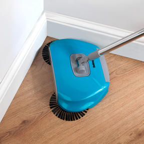 Beldray COMBO-3989 Hard Floor Spinning Sweeper with Extendable Duster and Storage Caddy Thumbnail 4