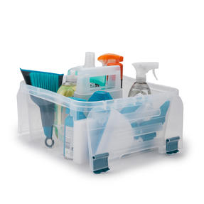 Beldray COMBO-3991 Cleaning Set with Small Step Stool, Caddy, Chenille Duster and Microfibre Cloths Thumbnail 6