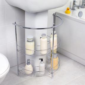 Beldray COMBO-3980 Bathroom Storage Unit and Toilet Accessory Set Thumbnail 9