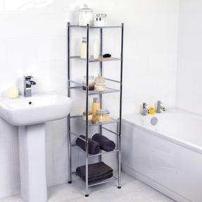 Beldray COMBO-3980 Bathroom Storage Unit and Toilet Accessory Set Thumbnail 10