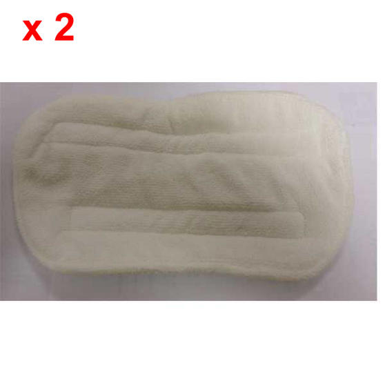 Steam Mop Pads for Model Number BEL0013 - Pair