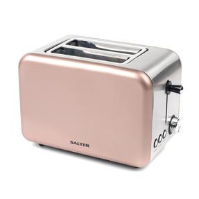 Salter EK2652CHAMPAGNE Metallics Polaris 2-Slice Toaster, 850W, Champagne Edition Thumbnail 1