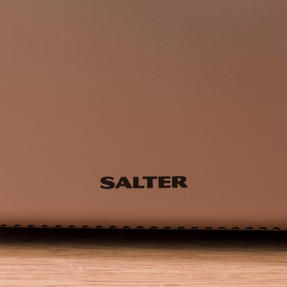 Salter EK2652CHAMPAGNE Metallics Polaris 2-Slice Toaster, 850W, Champagne Edition Thumbnail 7