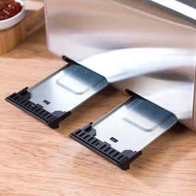 Salter EK3352CHAMPAGNE Metallics Polaris 4-Slice Toaster, 1500W, Champagne Edition Thumbnail 6