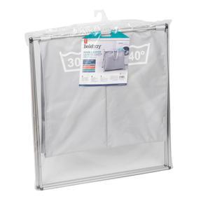 Beldray LA041074GRYEU Double Sorter Laundry Hamper, Grey Thumbnail 9