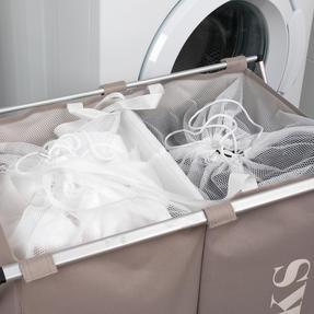 Beldray LA041074NATEU Double Sorter Laundry Hamper, Natural Thumbnail 6