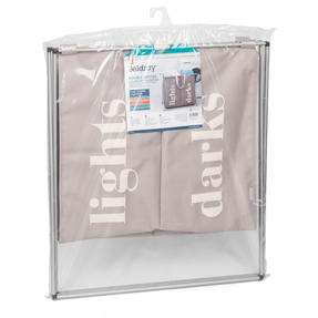 Beldray LA041074NATEU Double Sorter Laundry Hamper, Natural Thumbnail 9