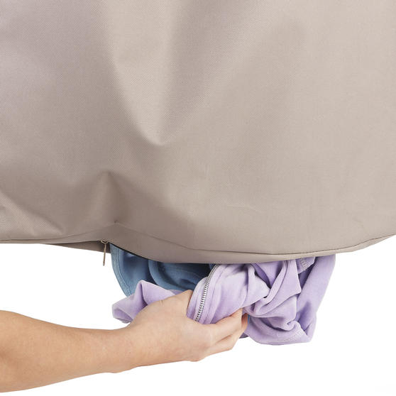 Beldray Overdoor Laundry Hamper, Natural Thumbnail 4