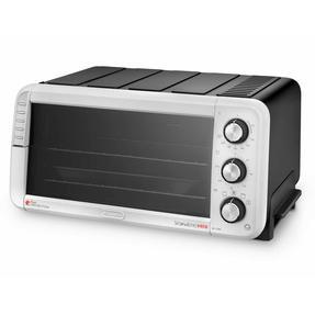 DeLonghi EO12562 Sfornatutto Electric Mini Oven, 1400 W, Black/Grey Thumbnail 1