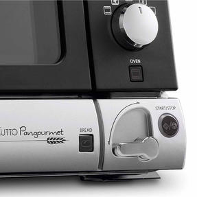 DeLonghi EOB20712 Pangourmet Digital Electric Oven and Bread Maker, 20 L, 1400 W, Silver/Black Thumbnail 5