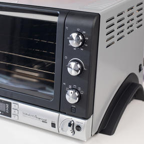 DeLonghi EOB20712 Pangourmet Digital Electric Oven and Bread Maker, 20 L, 1400 W, Silver/Black Thumbnail 9