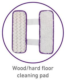 Wood and Hard Floor Cleaning Pad for EF0286 2-in-1 Hard Floor and Carpet Cleaner
