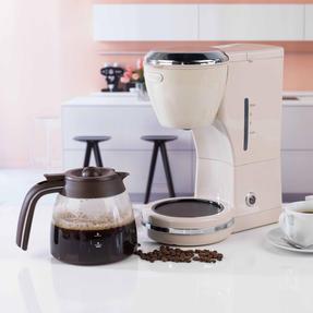 DeLonghi ICMOV210BG Icona Vintage Drip Coffee Machine, 1.25 L, 1000 W, Beige Thumbnail 12