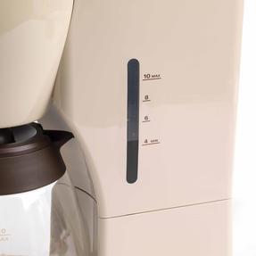 DeLonghi ICMOV210BG Icona Vintage Drip Coffee Machine, 1.25 L, 1000 W, Beige Thumbnail 5
