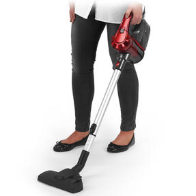 Beldray BEL0769N 2-In-1 Quick Vac Lite Multi-Surface Vacuum Cleaner, 0.6 L, 600 W, Graphite/Red Thumbnail 7