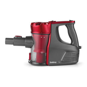 Beldray BEL0769N 2-In-1 Quick Vac Lite Multi-Surface Vacuum Cleaner, 0.6 L, 600 W, Graphite/Red Thumbnail 9