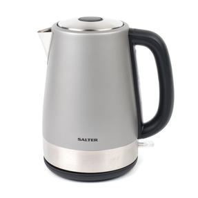 Salter Metallics Polaris Jug Kettle and 4-Slice Toaster Set, Titanium Edition Thumbnail 2