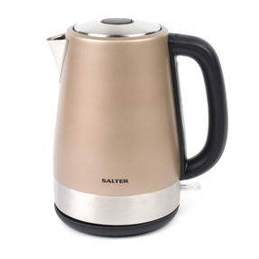 Salter Metallics Polaris Jug Kettle and 4-Slice Toaster Set, Champagne Edition Thumbnail 4