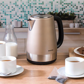 Salter COMBO-3652 Metallics Polaris Jug Kettle and 4-Slice Toaster Set, Champagne Edition Thumbnail 8