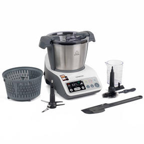 Kenwood CCC200 kCook Cooking Food Processor, 1.5 L, 800 W, White/Grey Thumbnail 1