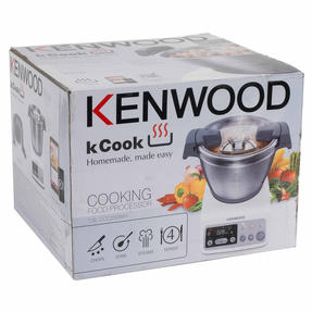 Kenwood CCC200 kCook Cooking Food Processor, 1.5 L, 800 W, White/Grey Thumbnail 12