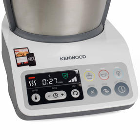Kenwood CCC200 kCook Cooking Food Processor, 1.5 L, 800 W, White/Grey Thumbnail 6