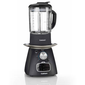 Cuisinart SSB1U Electric Soup Maker and Blender, 1.75 L, 1000 W, Black Thumbnail 1