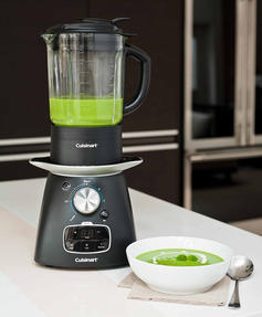 Cuisinart SSB1U Electric Soup Maker and Blender, 1.75 L, 1000 W, Black Thumbnail 3
