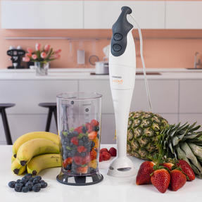 Kenwood HB605 Electric Dual-Speed Hand Immersion Blender, 0.7 L, 400 W, White Thumbnail 4