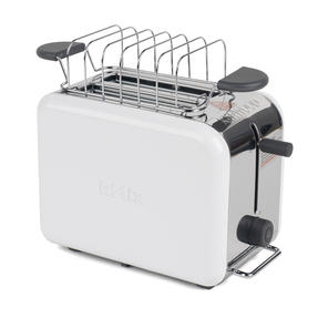 Kenwood TTM020A KMIX Two-Slice Toaster, 900 W, Stainless Steel, Coconut White Thumbnail 2